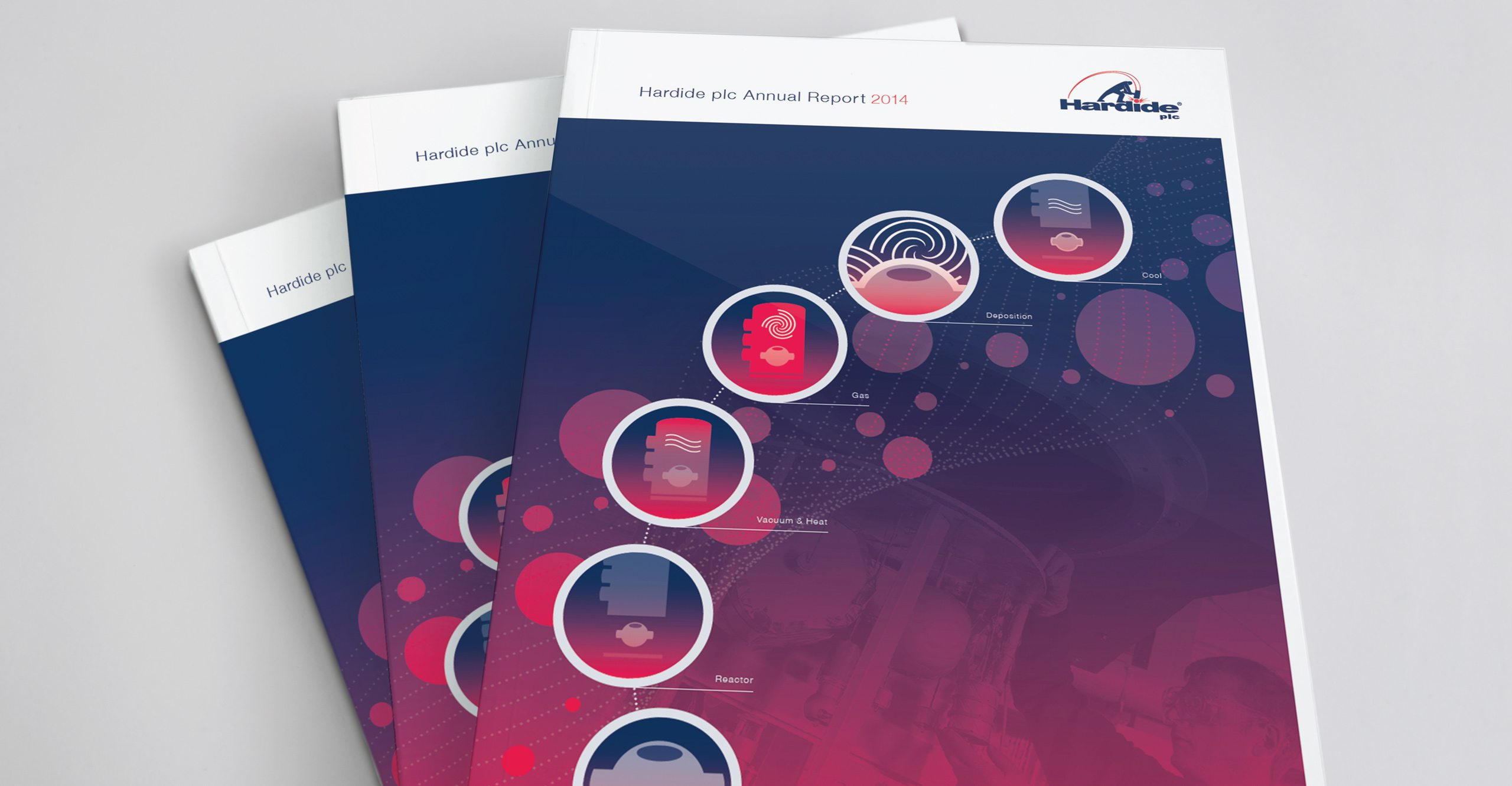 Hardide plc Annual Report Design