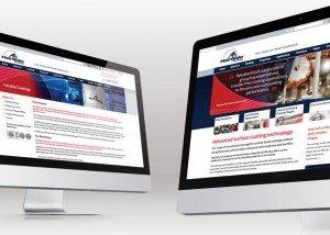 Website Design by Veucom for Hardide Coatings