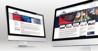 Website Design by Veucom for Hardide Coatings
