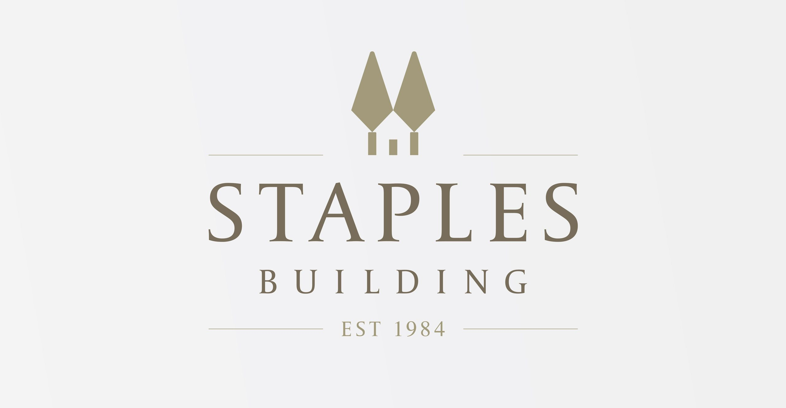Staples Building Logo Design