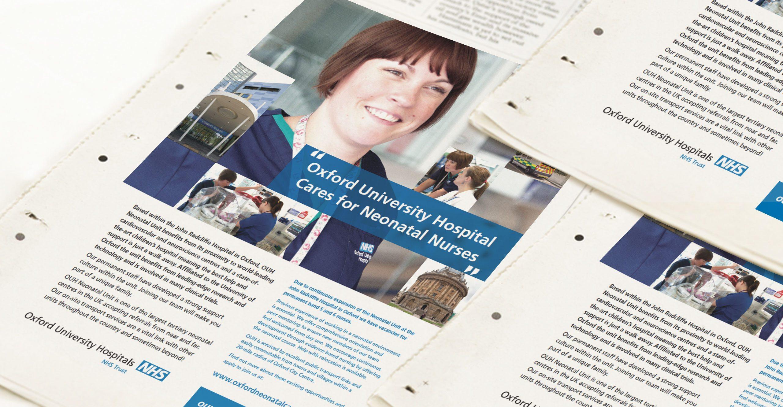 NHS Trust Advertising Campaign Design
