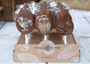 Brand Design by Veucom - Time Bites Chocolate Fossils