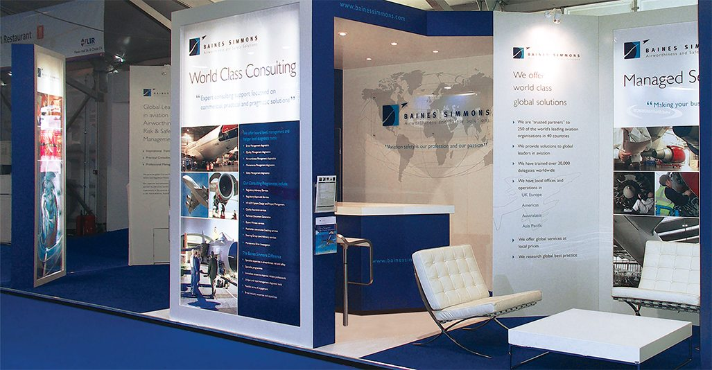 Exhibition Stands Oxfordshire : Exhibition stand design by veucom baines simmons
