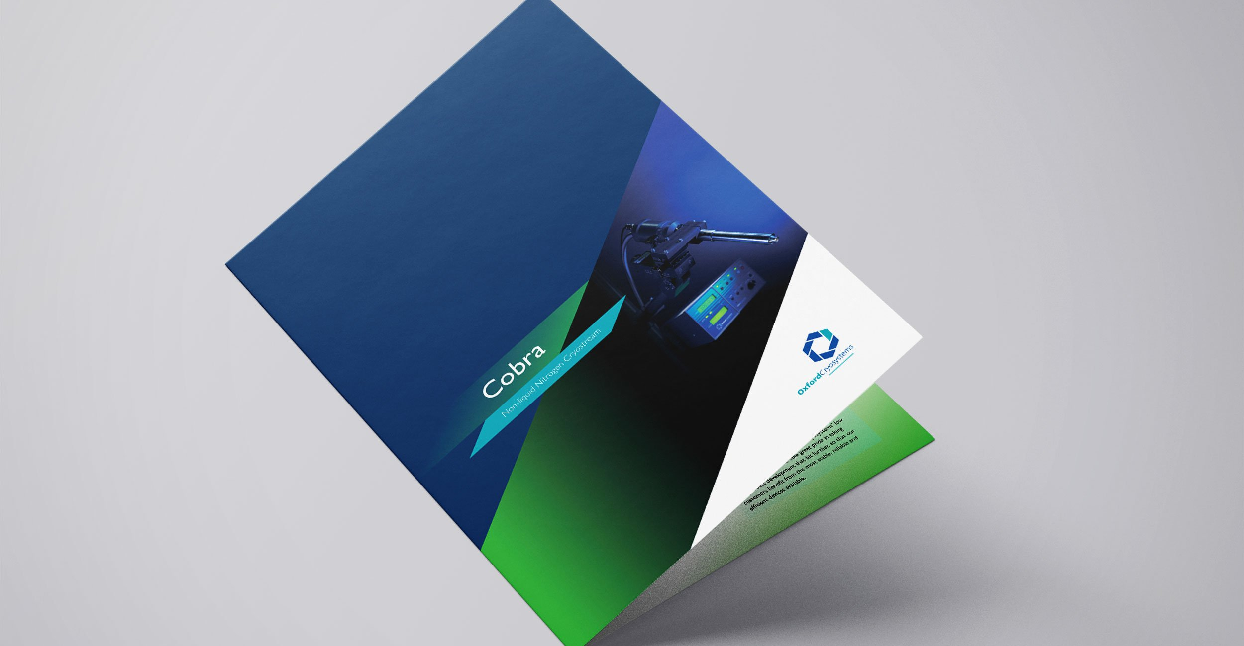 Oxford Cryosystems Brochure Design