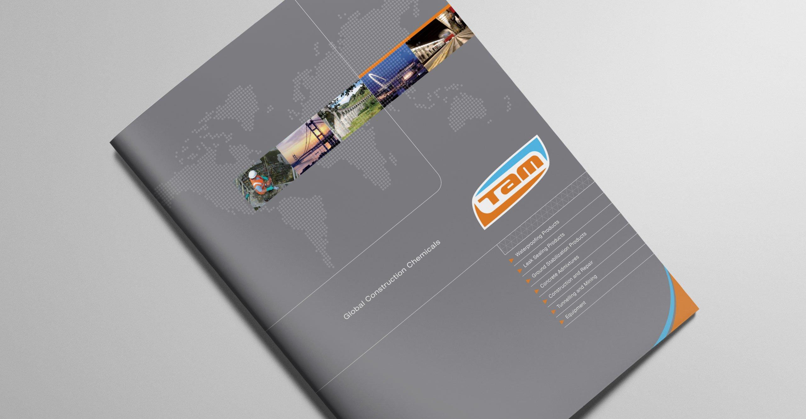 TAM International Brochure Design