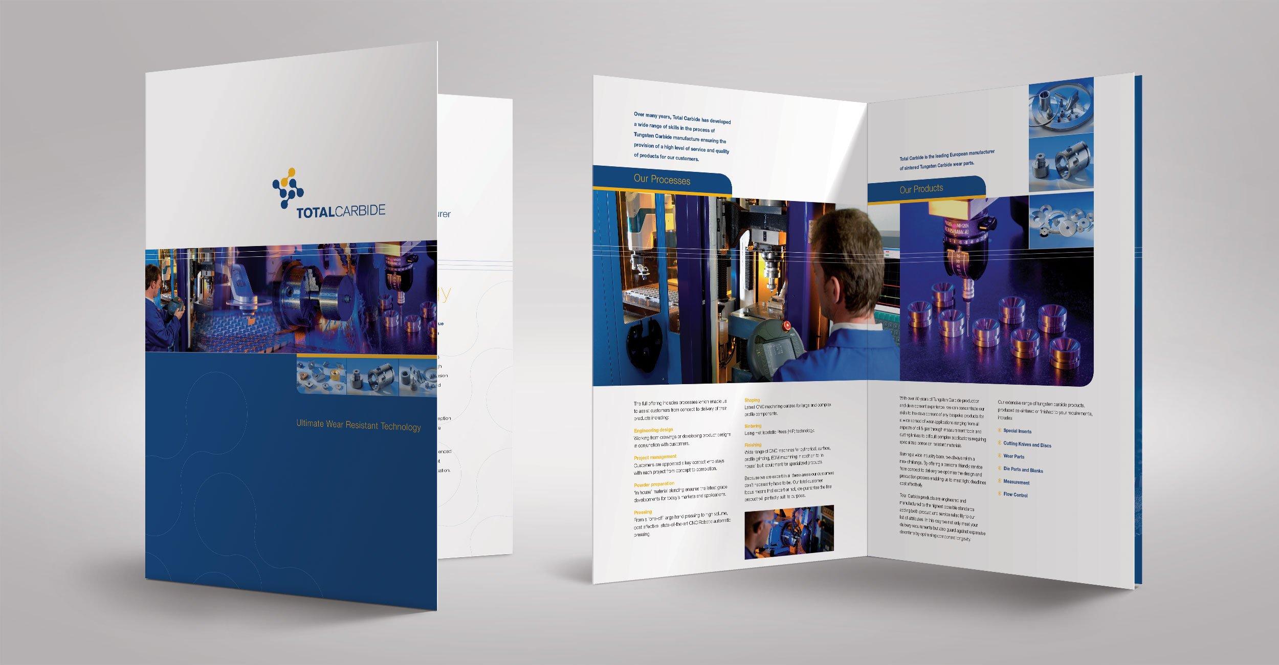 Total Carbide Brochure Design