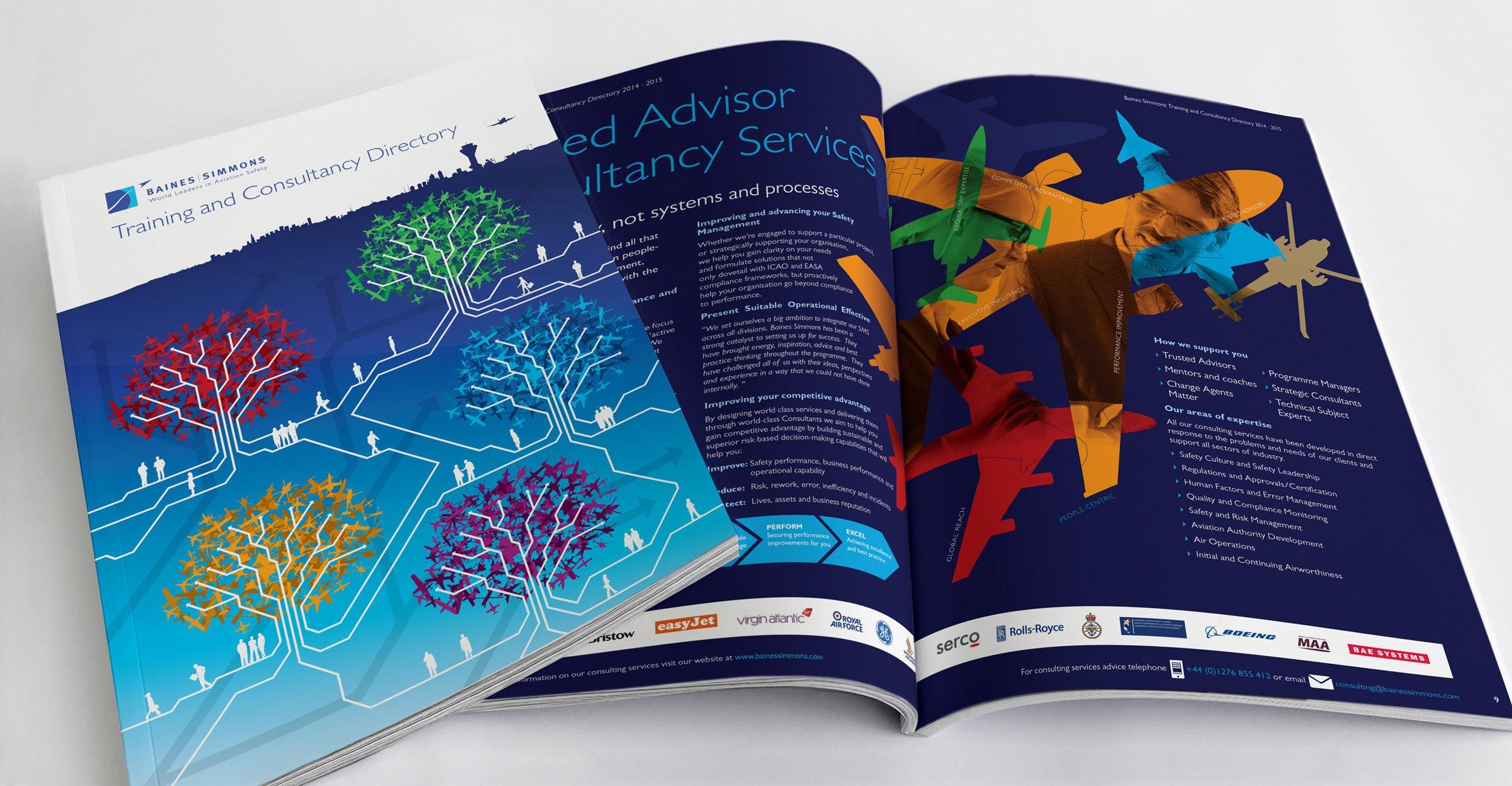 Baines Simmons Training Directory Design