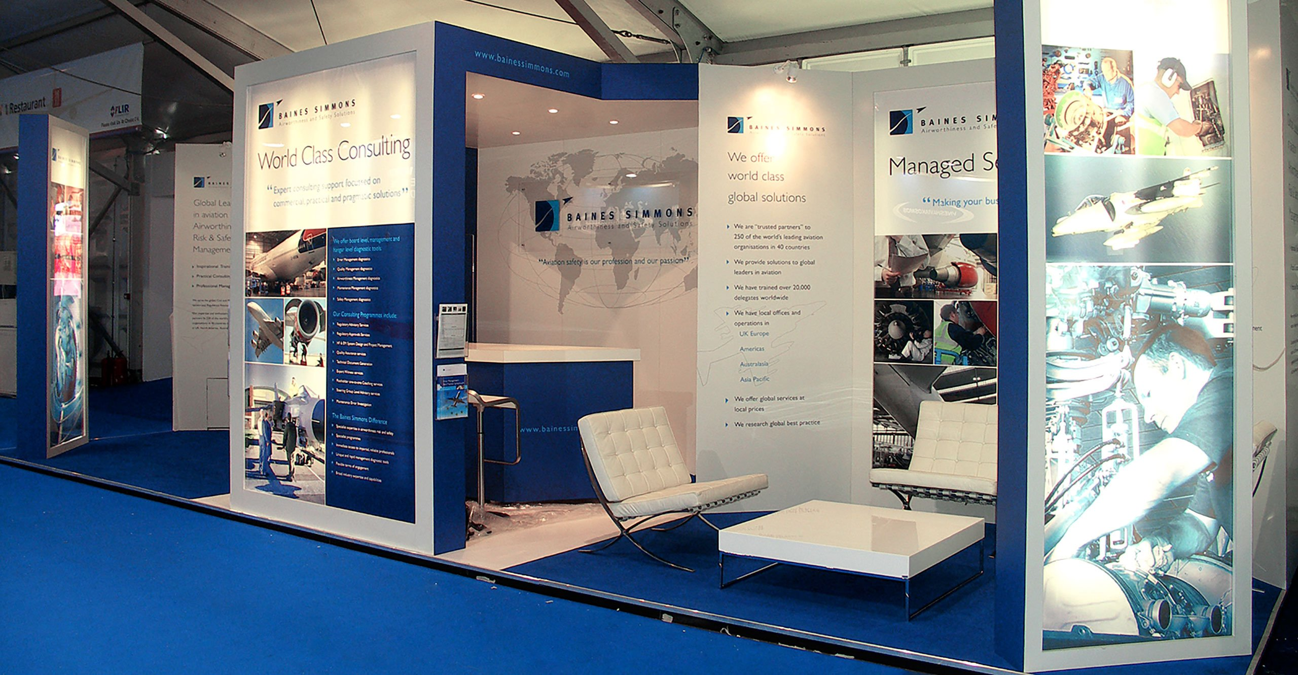 Exhibition Stand Design - Baines Simmons