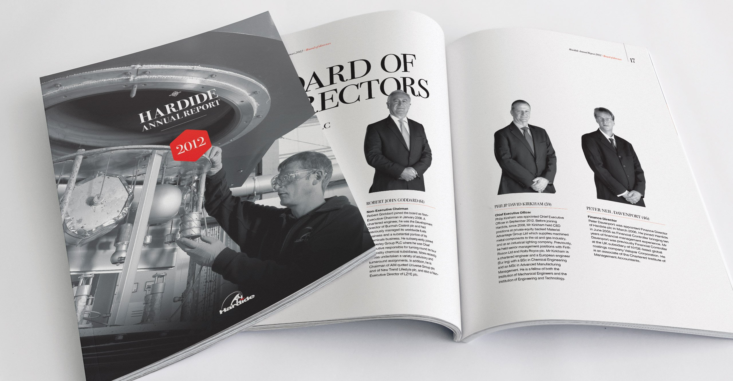 Hardide plc Annual Report Design 2012