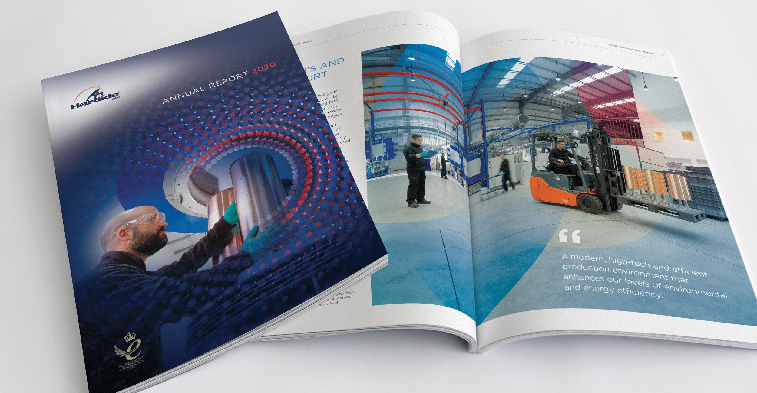 Hardide plc Annual Report Design 2020