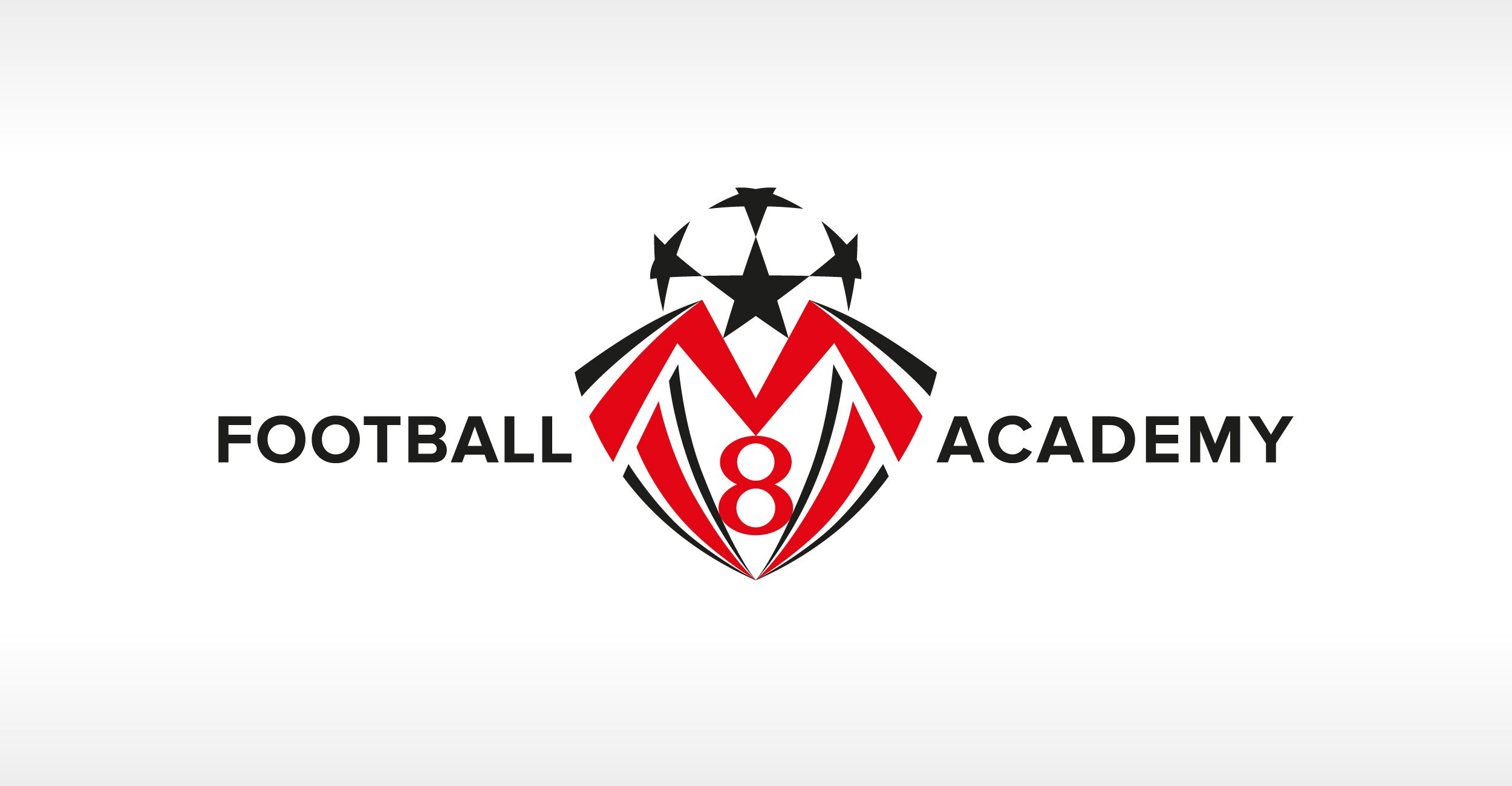 MV8 Football Academy Brand Design