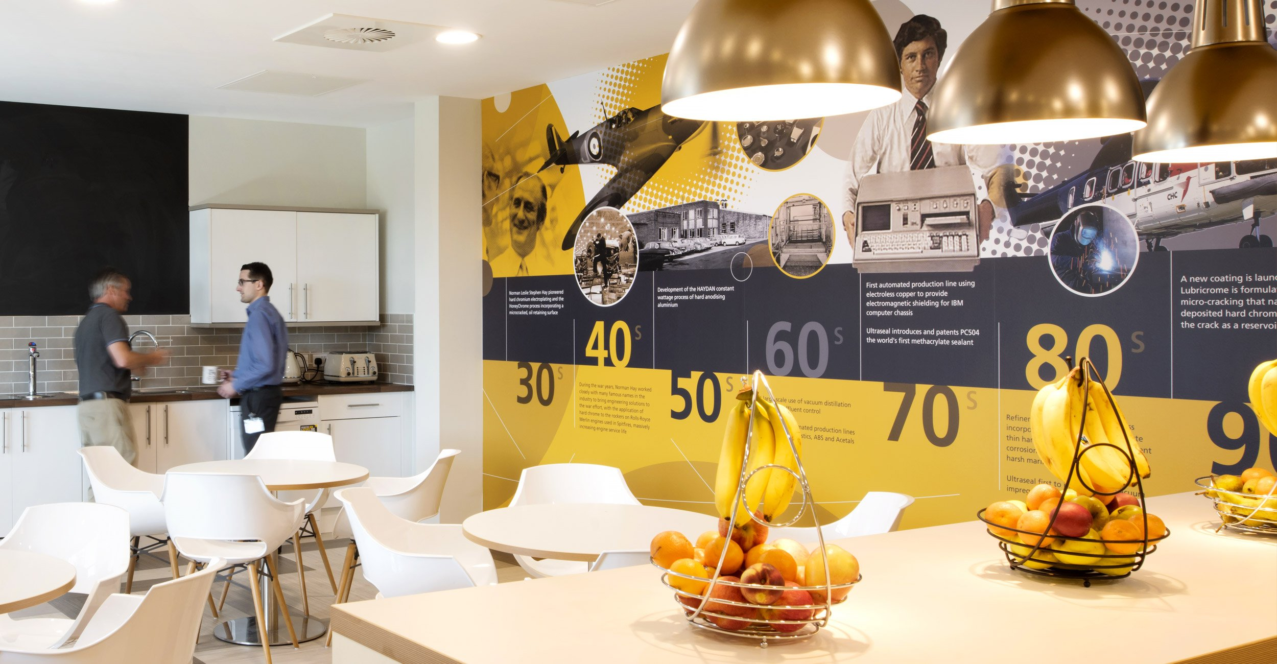 Norman Hay plc Office Interior Wall Graphics Design