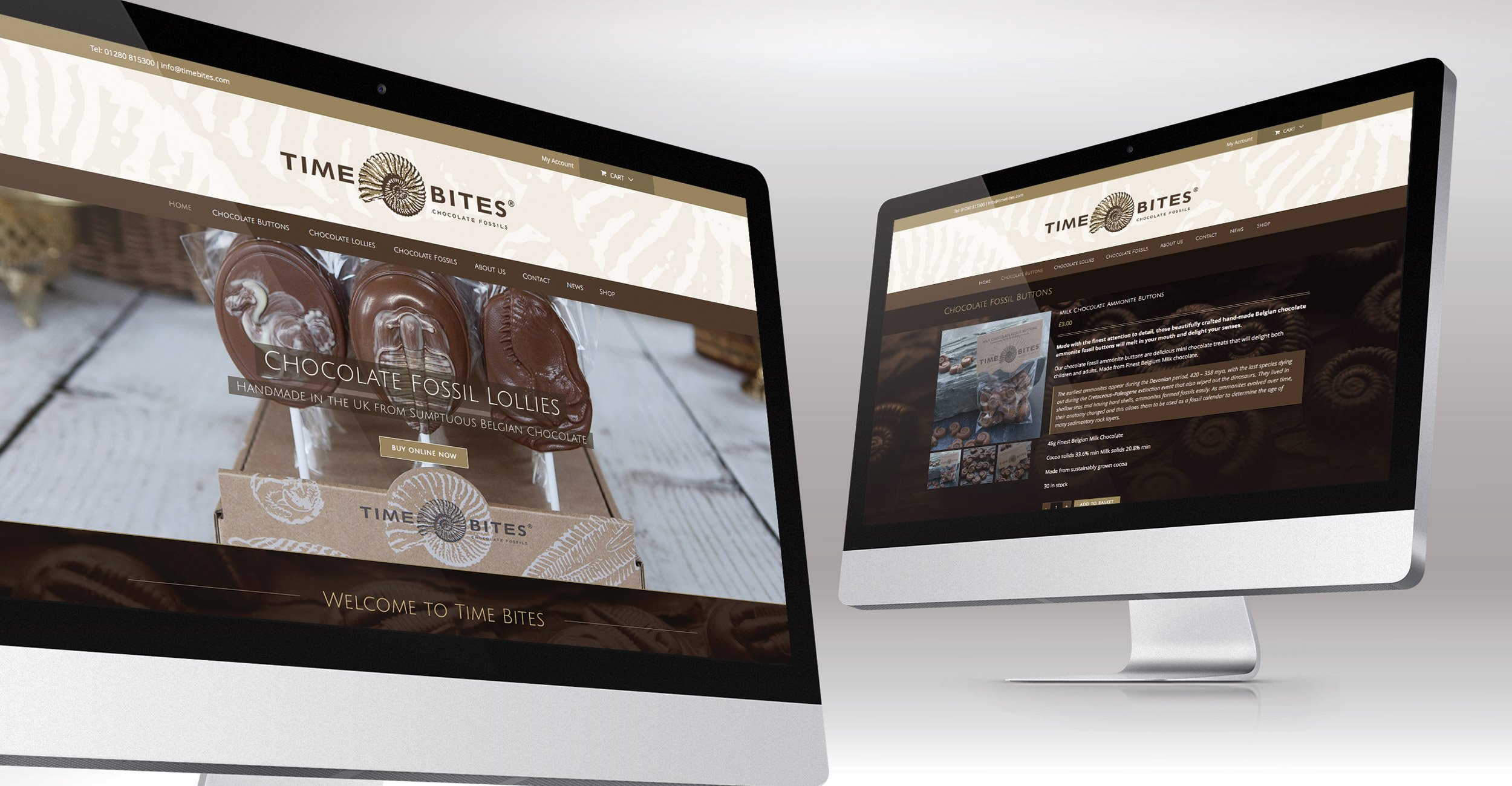 Time Bites Website Design