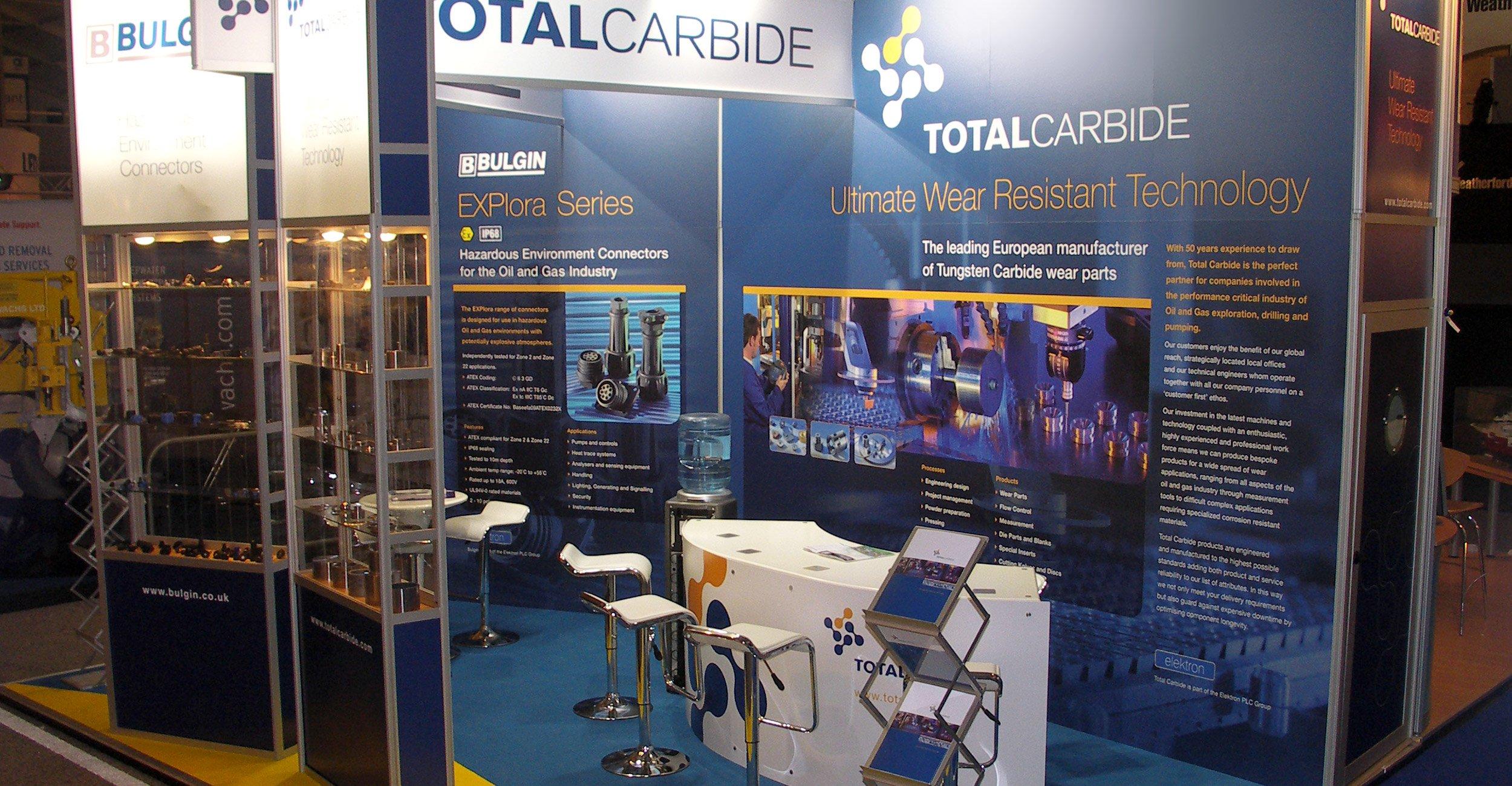 Total Carbide Exhibition Stand Design